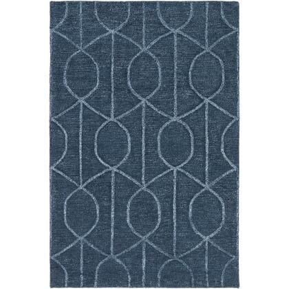 AWUB2165-913 9' x 13' Rug  in Navy and Pale