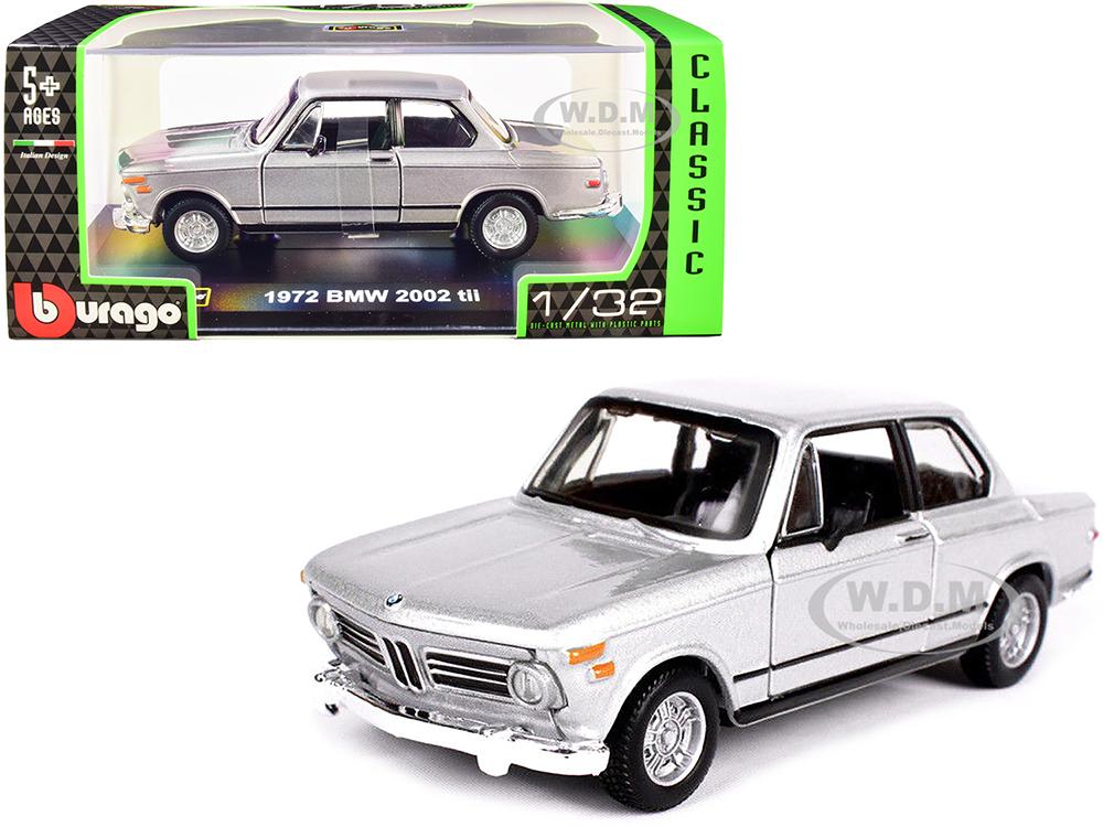 1972 BMW 2002 tii Silver Metallic