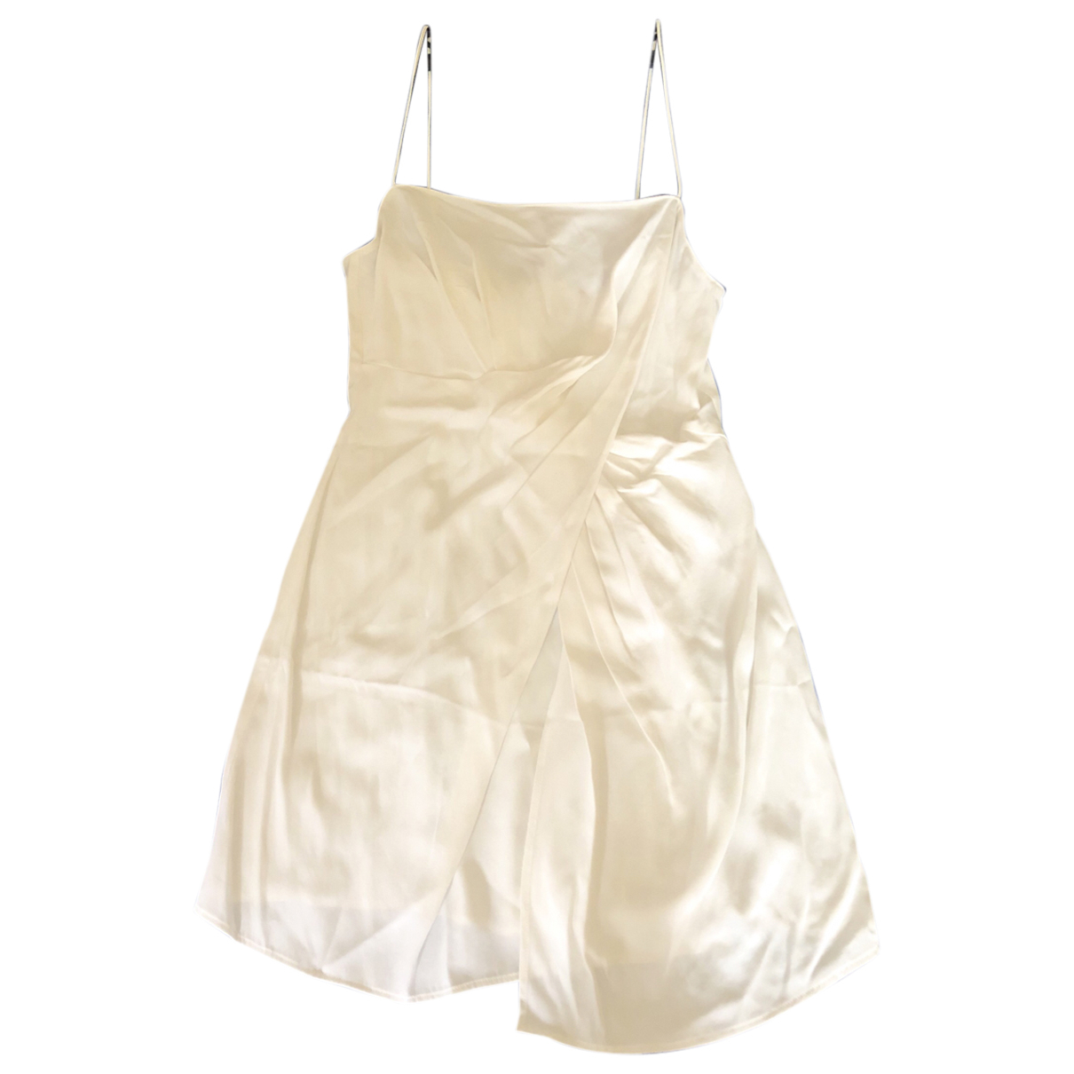 Non Signé / Unsigned \N White dress for Women 12 UK