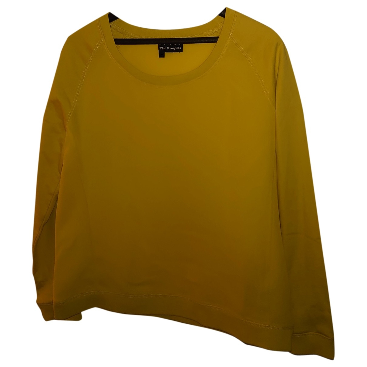 The Kooples \N Pullover in  Gelb Polyester