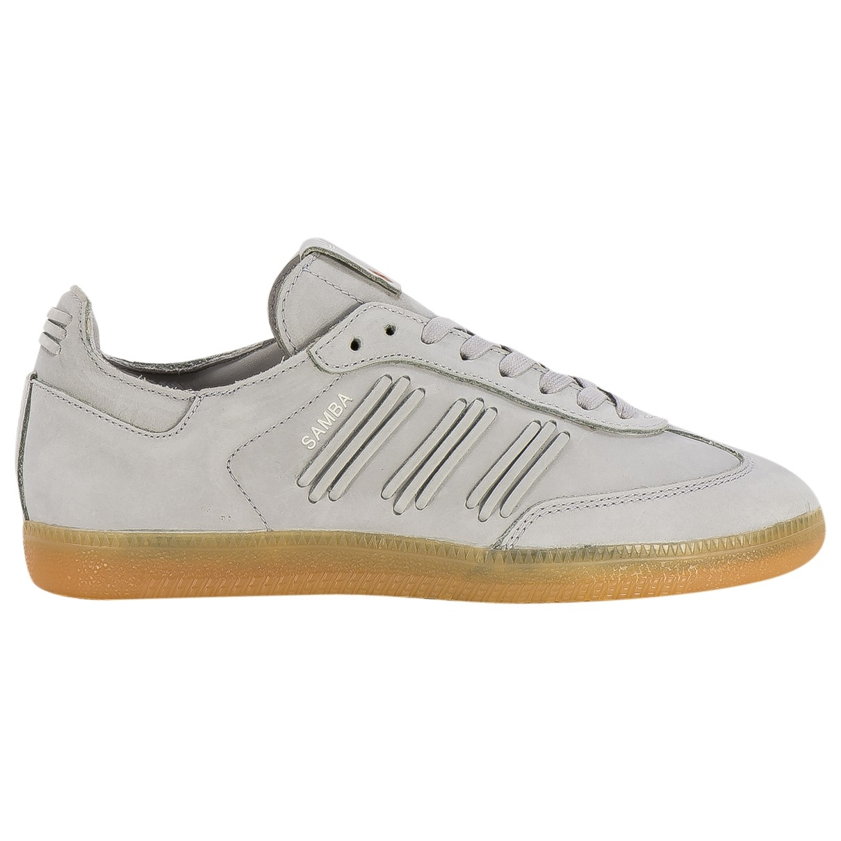 Adidas Samba Grey Leather Trainers for Women 40 EU