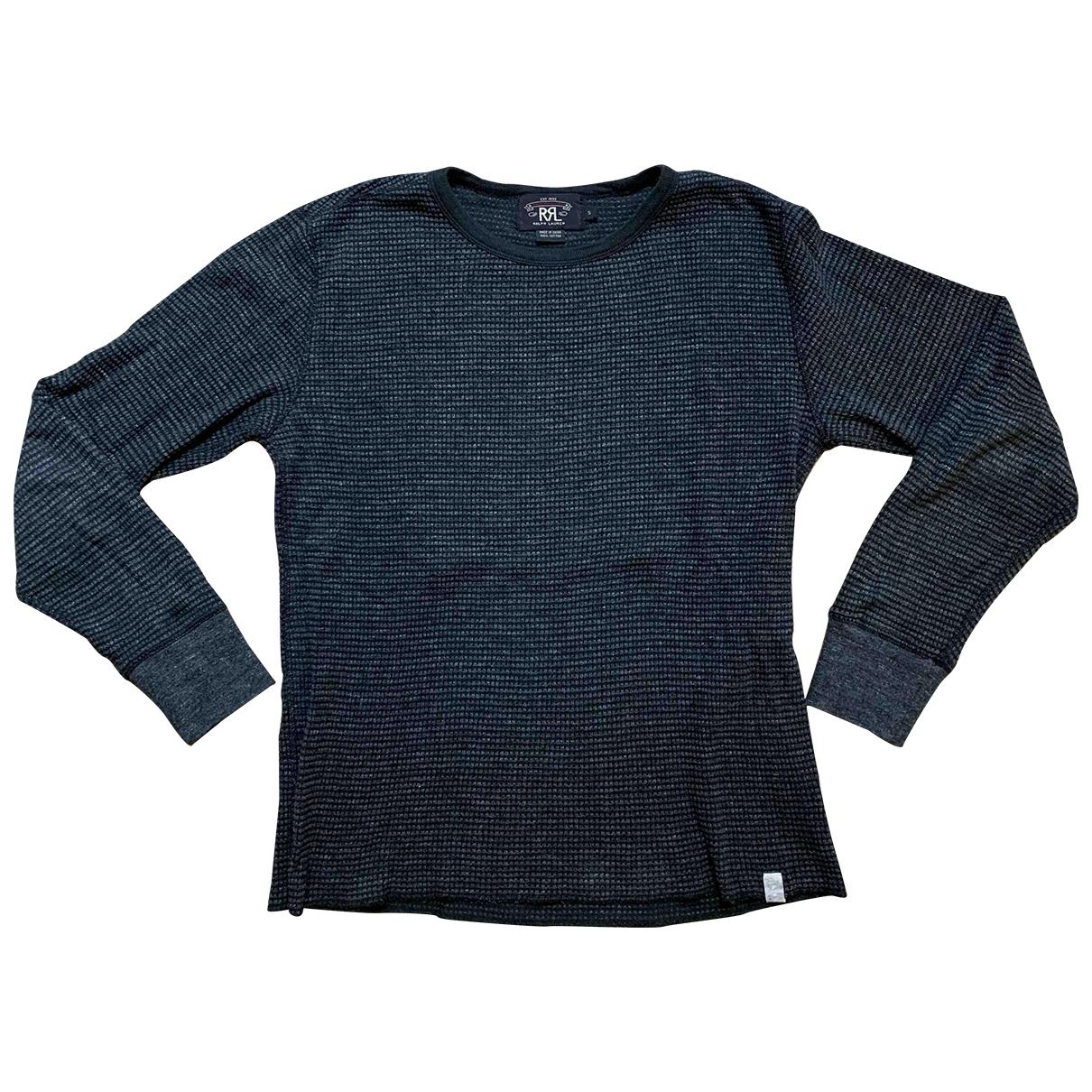 Ralph Lauren Double Rl \N Pullover.Westen.Sweatshirts  in  Grau Baumwolle