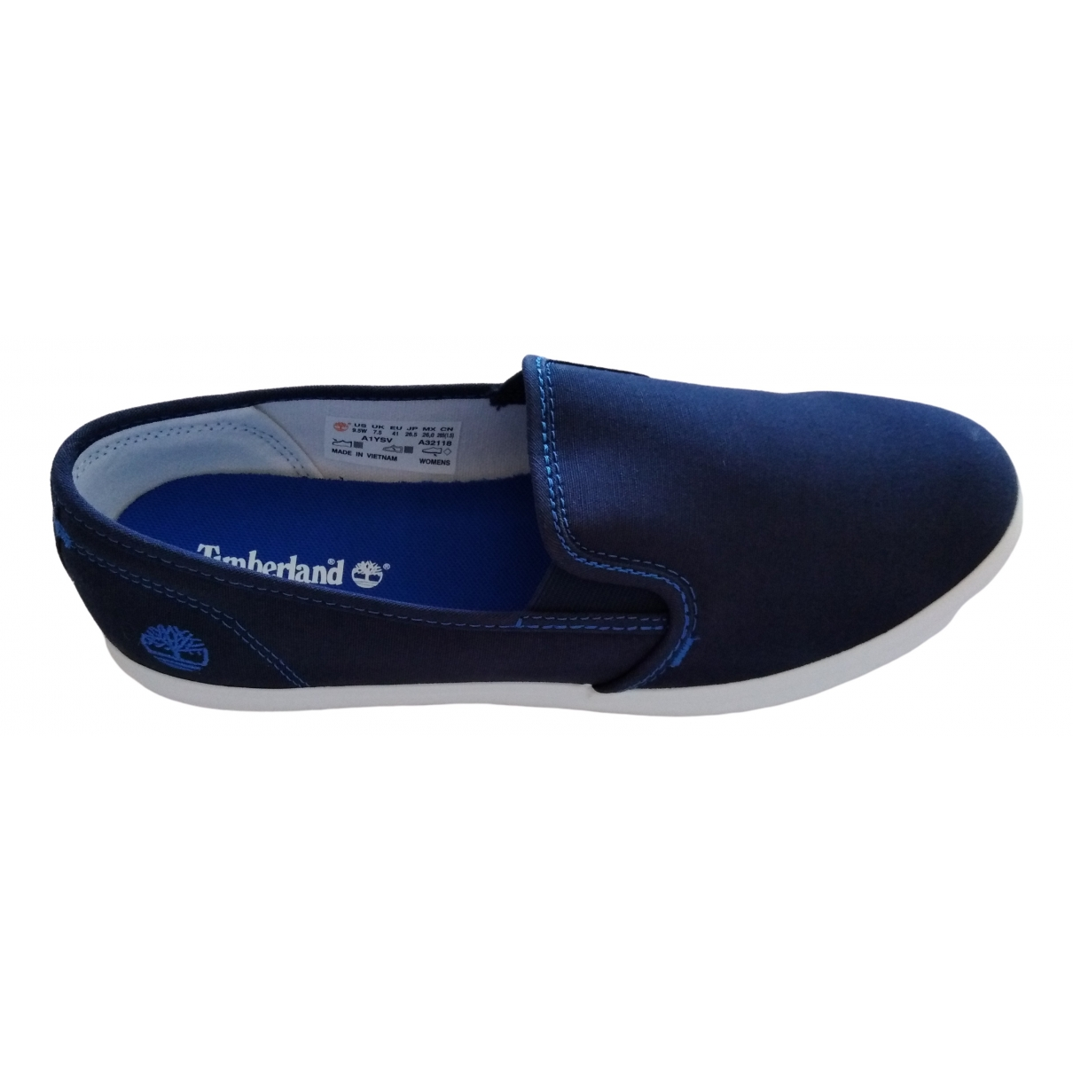 Timberland \N Blue Cloth Trainers for Women 41 EU