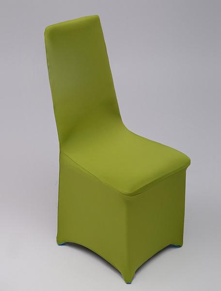 Milanoo Pink Elastic Wedding Chair Cover