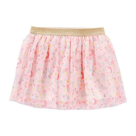 Carter's Toddler Girls Mid Rise Midi Tutu Skirts, 2t , Multiple Colors