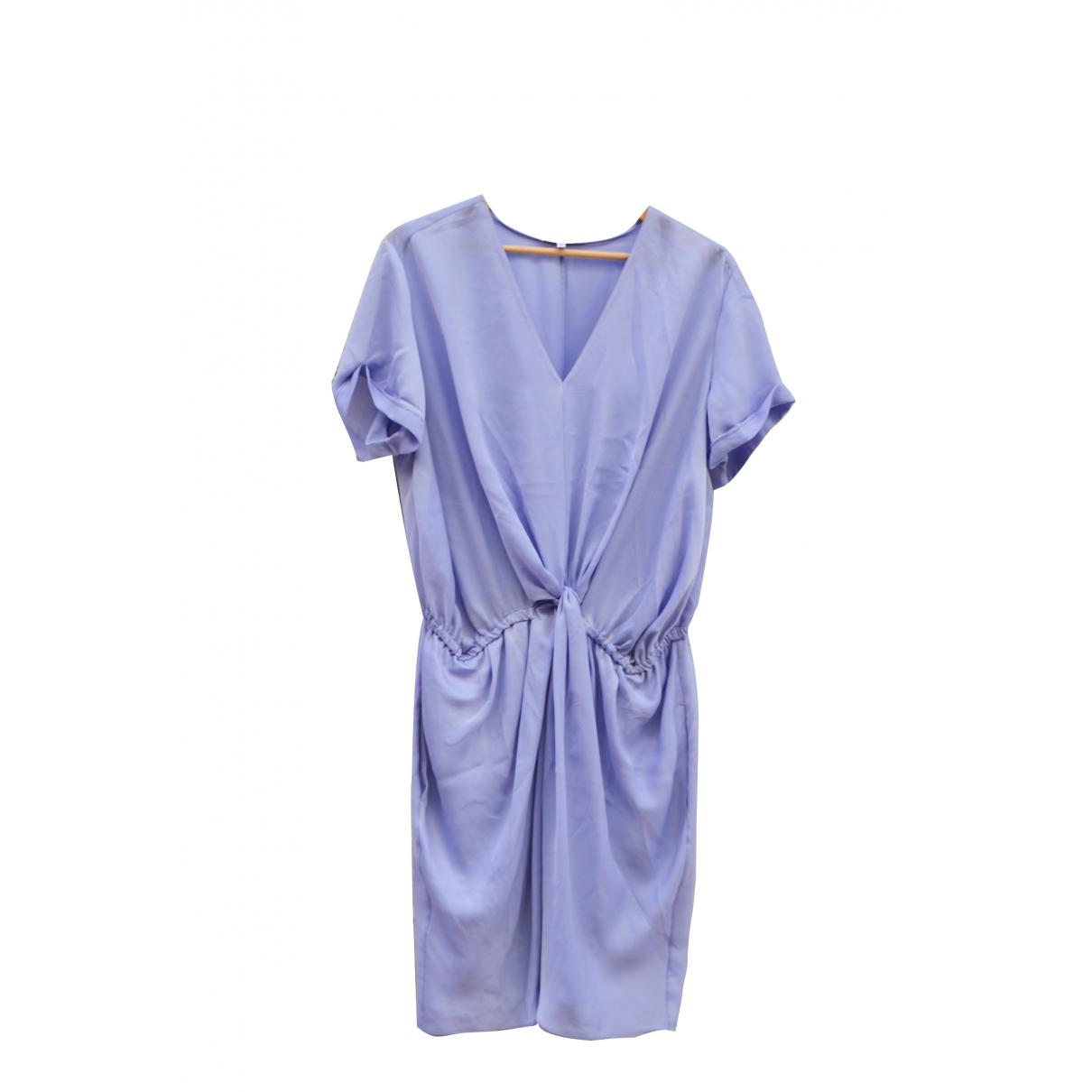 Carven \N Kleid in  Tuerkis Synthetik