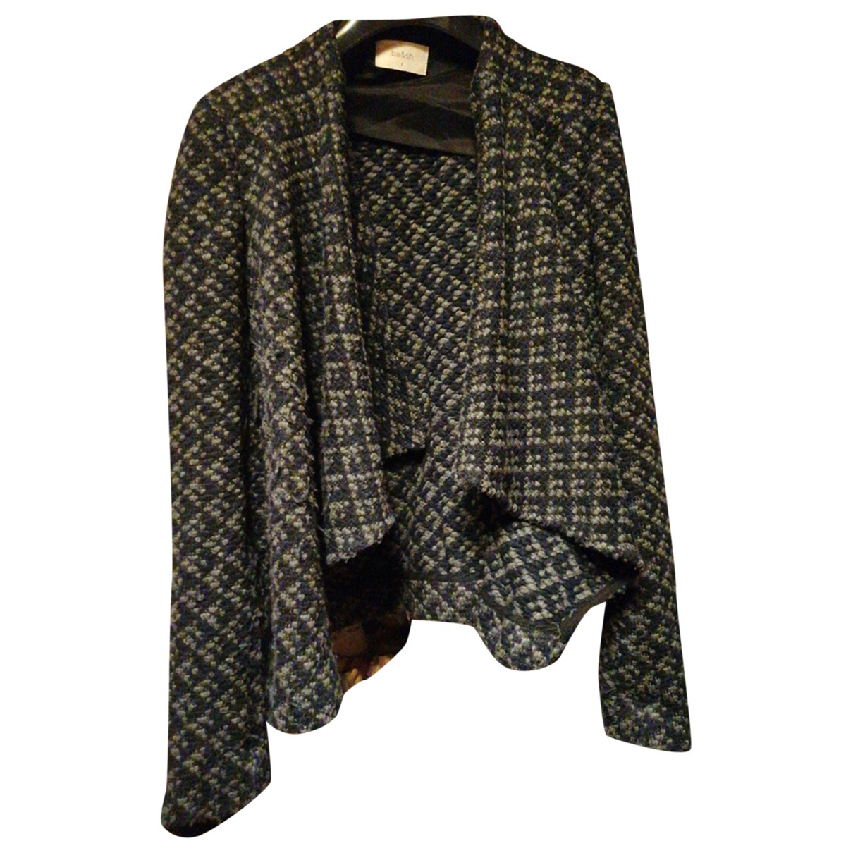 Ba&sh N Anthracite Wool jacket for Women 1 0-5