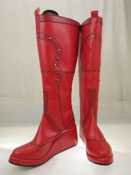 Milanoo Halloween Batman Arkham Asylum Harley Quinn Cosplay zapatos