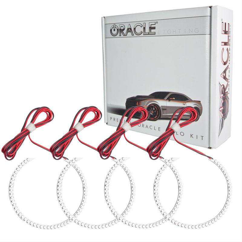 Oracle Lighting 2653-007 GMC Sierra 2008-2013 ORACLE LED Halo Kit (Round Ring Design)