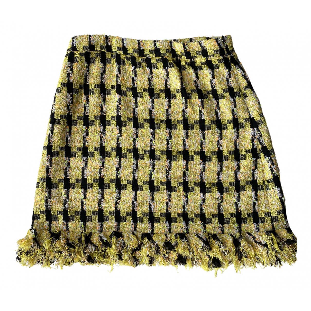 Mini falda Tweed Moschino