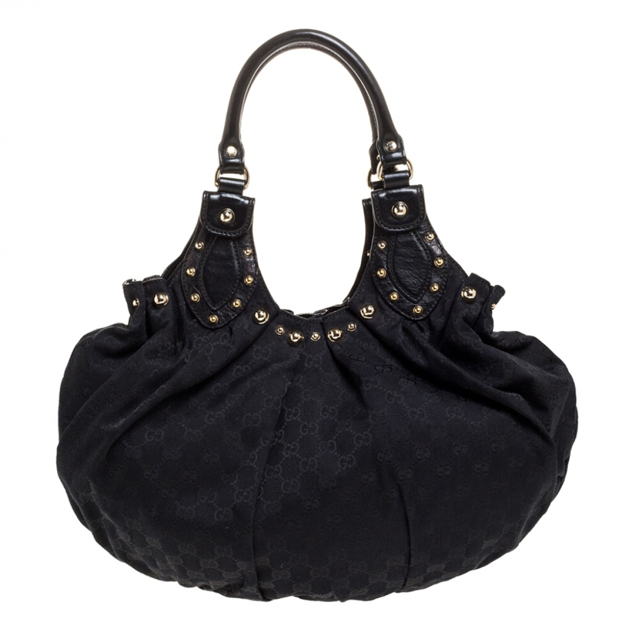 Gucci Pelham Black Leather handbag for Women N