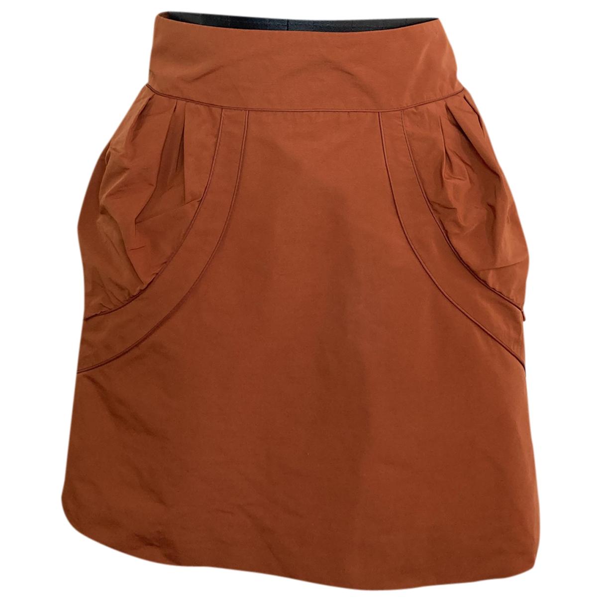 Louis Vuitton \N Orange skirt for Women 38 FR