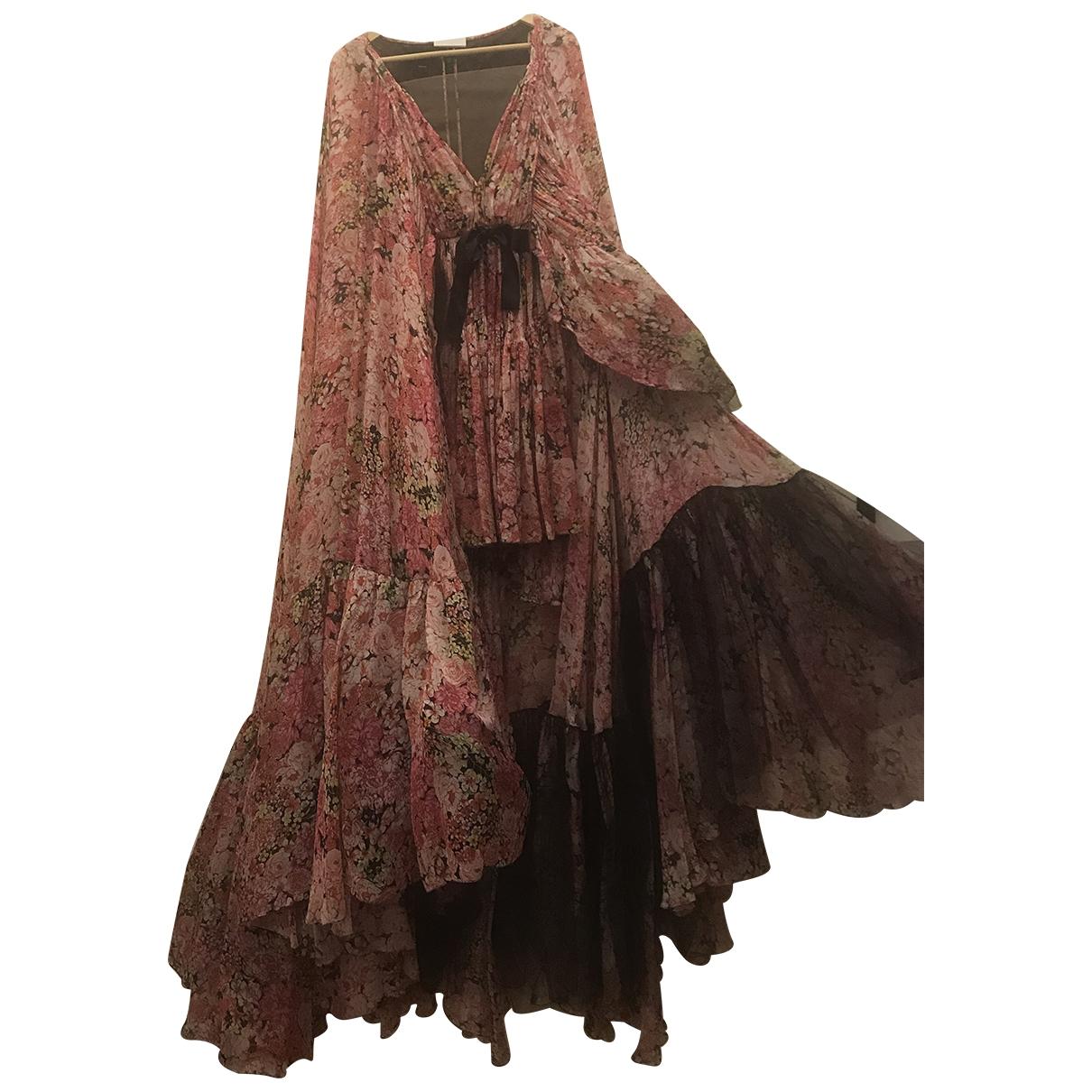 Giambattista Valli - Robe   pour femme en soie - rose