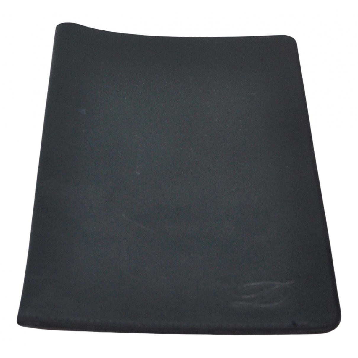 S.t. Dupont - Petite maroquinerie   pour homme en cuir - noir