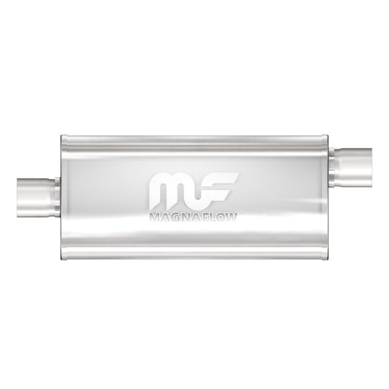 MagnaFlow 12226 Exhaust Products Universal Performance Muffler - 2.5/2.5