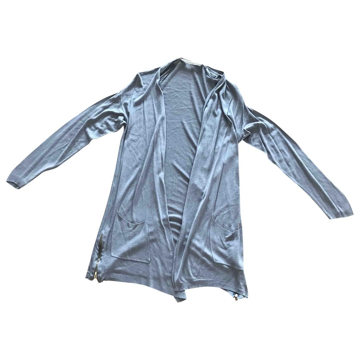 Zara \N Pullover in  Grau Baumwolle