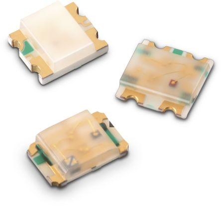 Wurth Elektronik 2.4 V RGB LED 2012 (0805) SMD,  WL-SFCD 150080M153000 (2000)
