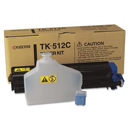 Kyocera-Mita TK512C originale Cyan Toner Cartridge