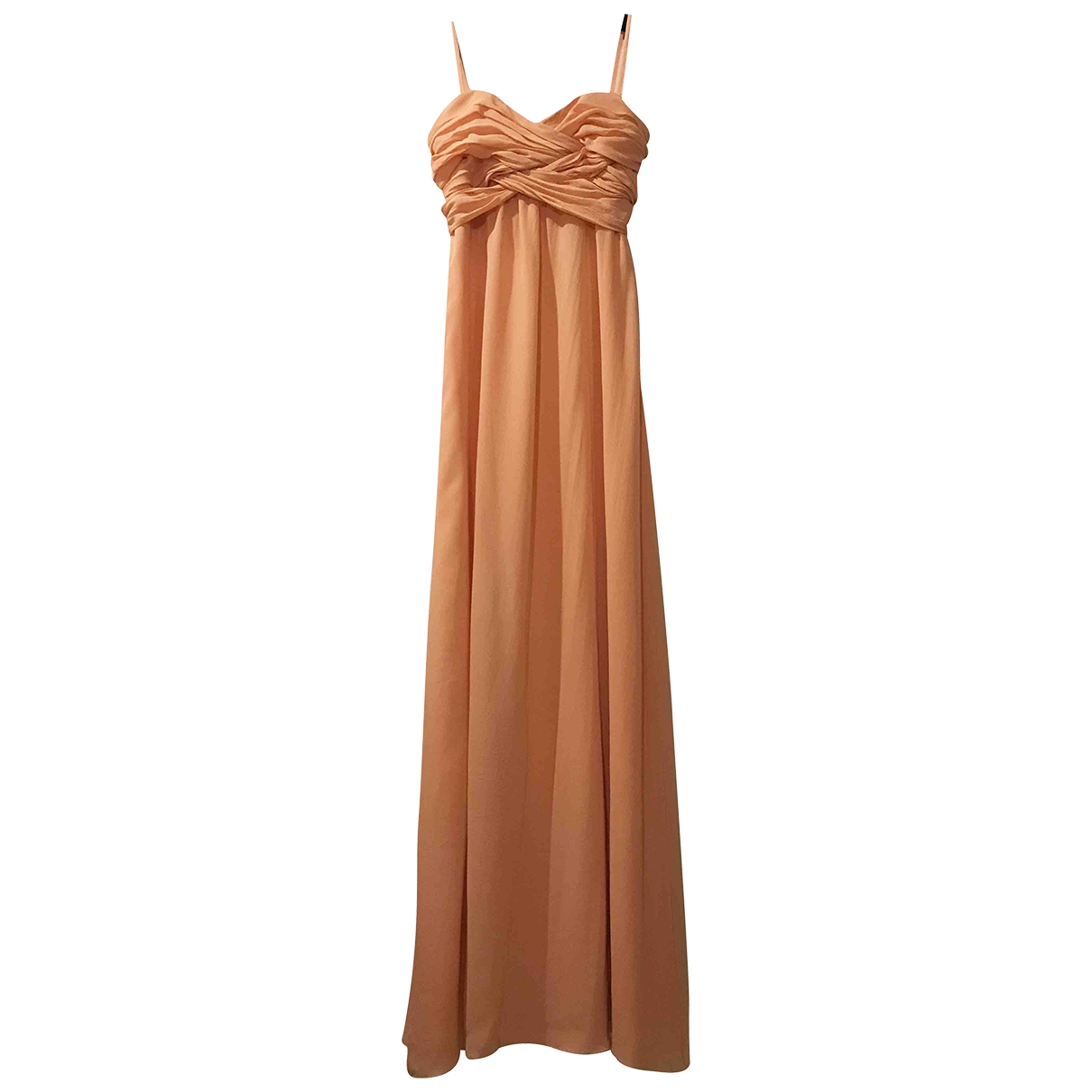 Ted Baker - Robe   pour femme en soie - orange