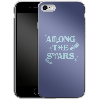 Apple iPhone 6 Silikon Handyhuelle - Among The Stars von caseable Designs