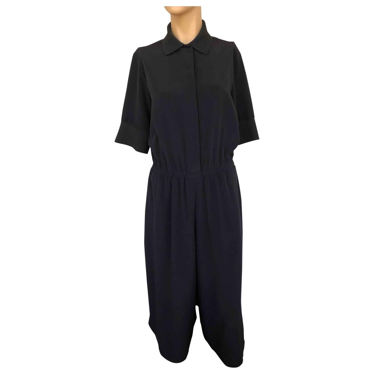 - Combinaison   pour femme en soie - noir