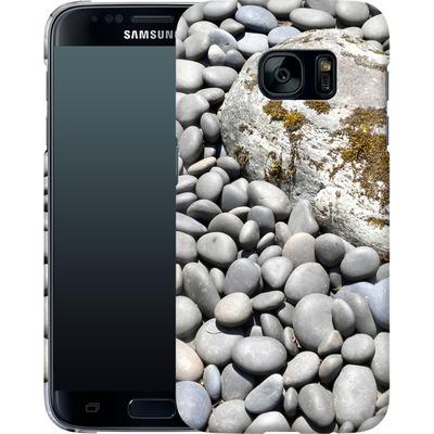 Samsung Galaxy S7 Smartphone Huelle - Zen Rocks von Brent Williams