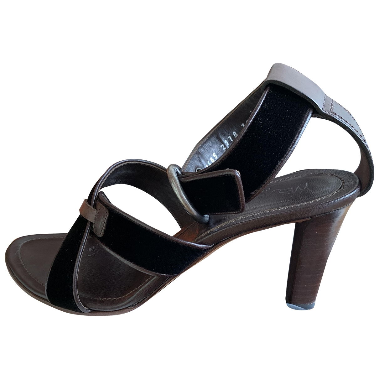 Sandalias romanas de Terciopelo Yves Saint Laurent