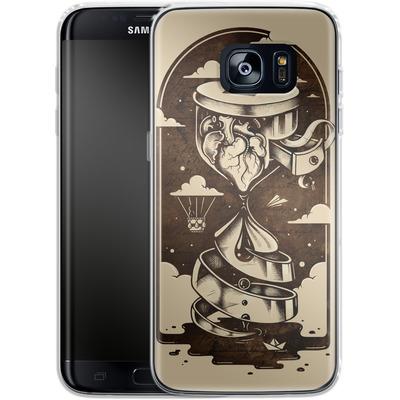 Samsung Galaxy S7 Edge Silikon Handyhuelle - Time Heals von Enkel Dika