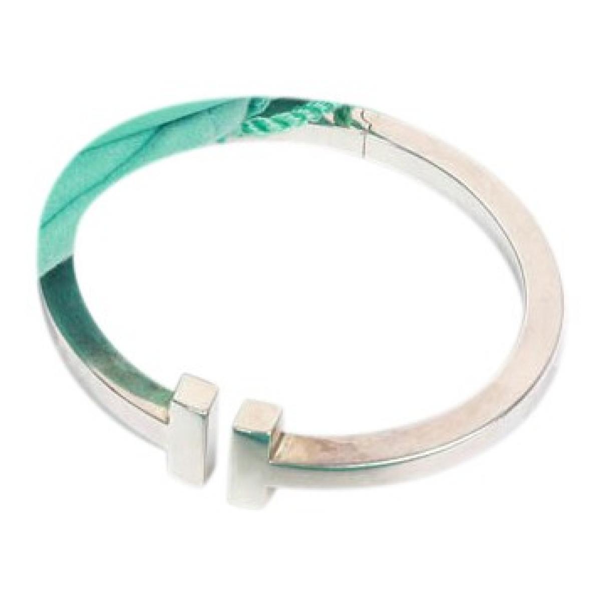 Tiffany & Co - Bracelet Tiffany T pour femme en argent - argente