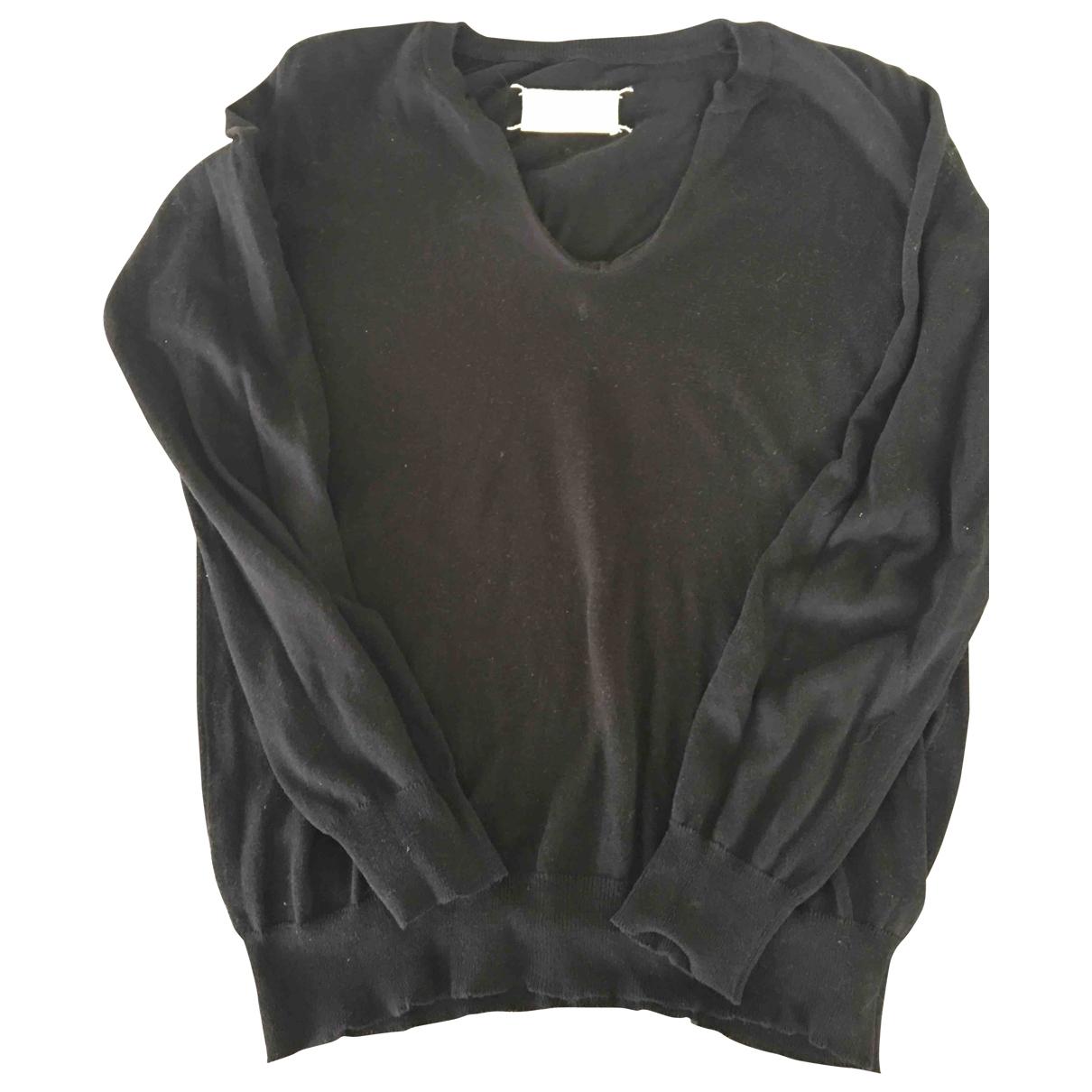 Maison Martin Margiela \N Black Cotton Knitwear for Women M International
