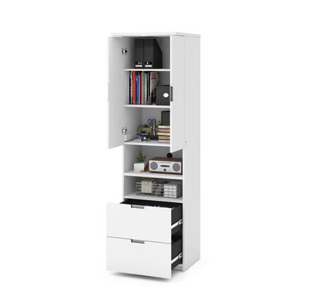 Lumina Collection 85160-17  Storage Unit with Drawers & Doors in