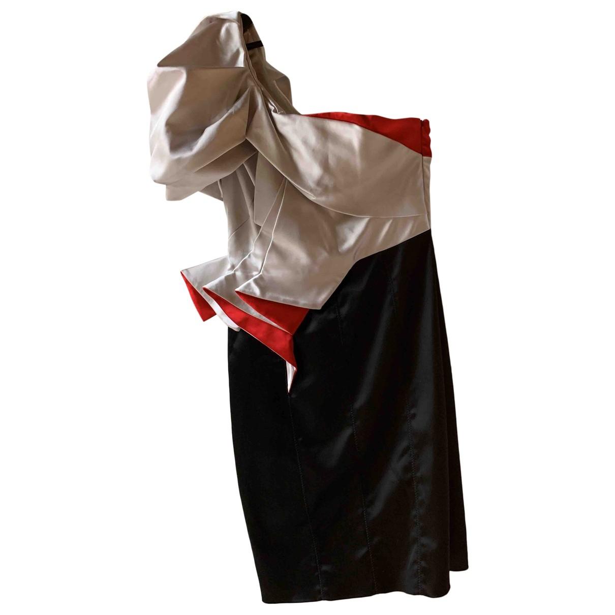 Karen Millen \N Ecru dress for Women 40 IT