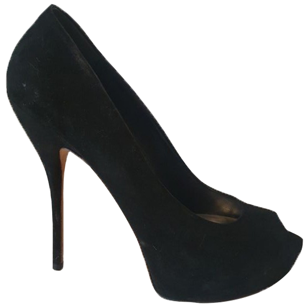 Gucci \N Black Suede Heels for Women 40 EU