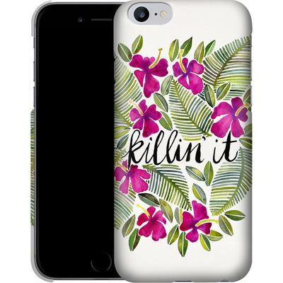 Apple iPhone 6s Plus Smartphone Huelle - Killin It Pink von Cat Coquillette