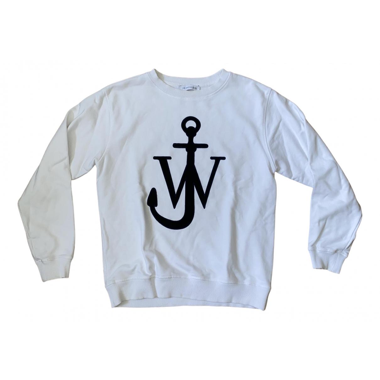 J.w. Anderson - Pull   pour femme en coton - blanc