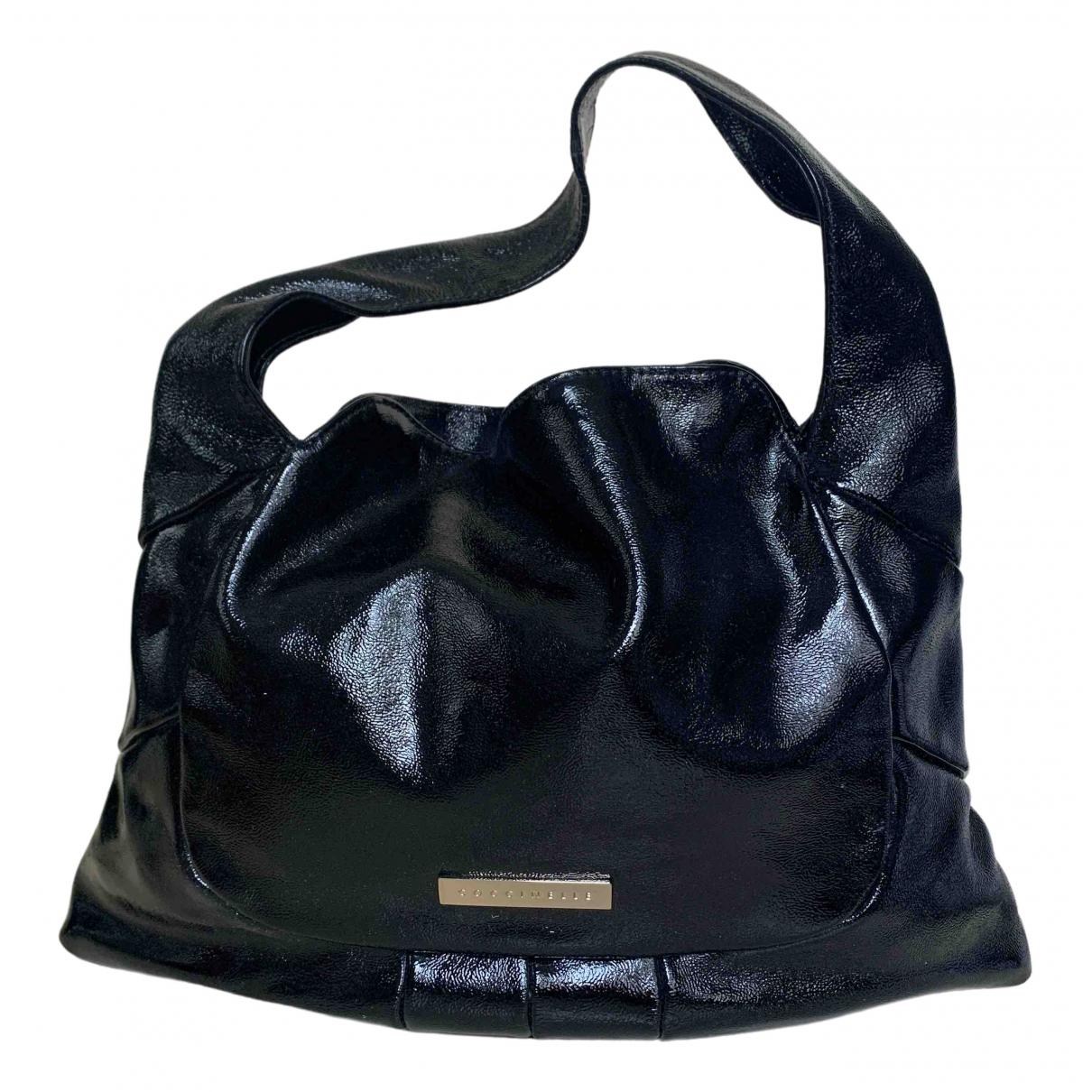 Coccinelle \N Black Patent leather handbag for Women \N