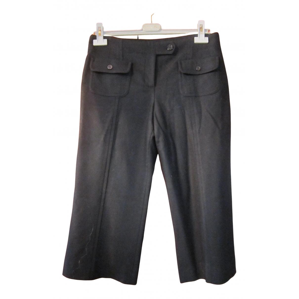 Pantalon de Lana Burberry