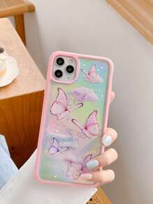 Holographic Butterfly iPhone Case