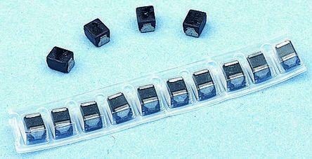 Panasonic , ELJFC/SC, 1008 Wire-wound SMD Inductor 2.2 μH ±20% Wire-Wound 155mA Idc Q:25 (10)