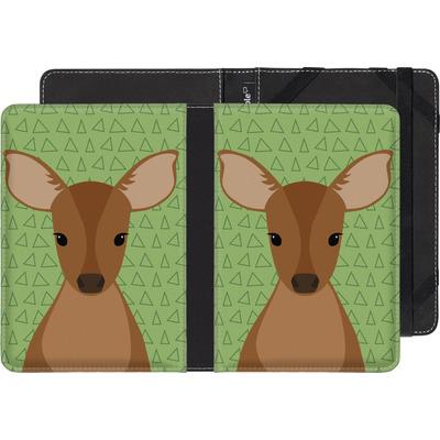 Kobo Aura Edition 2 eBook Reader Huelle - Deer on Green von caseable Designs