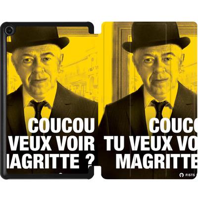 Amazon Fire 7 (2017) Tablet Smart Case - Tu Veux Voir Magritte von Fists Et Lettres