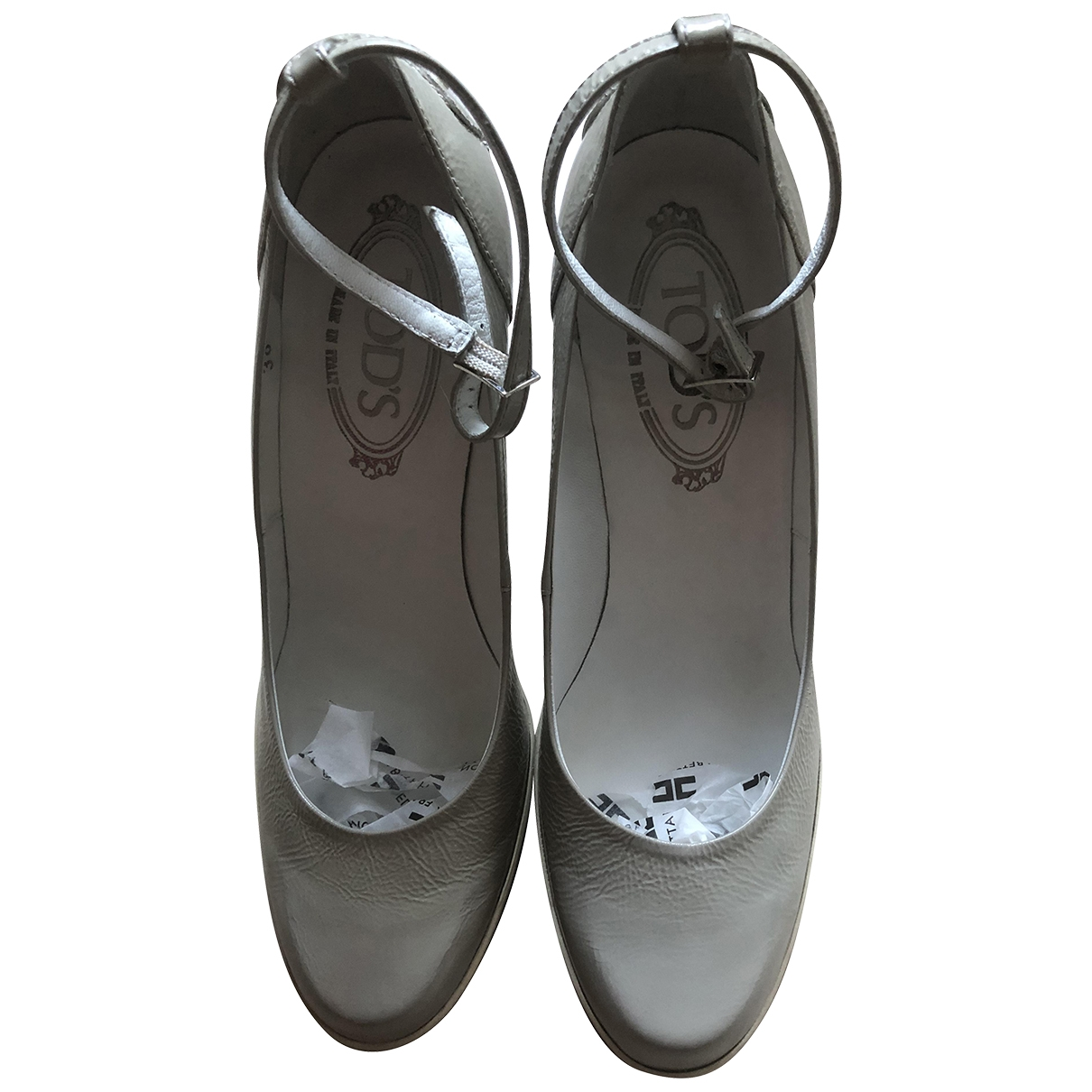 Tod's \N Patent leather Heels for Women 38 EU