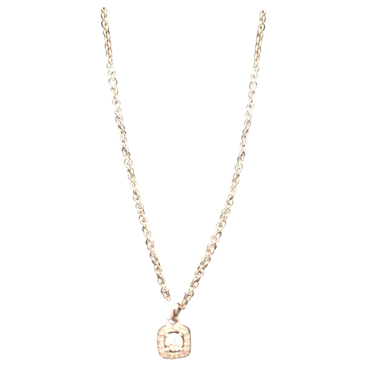 Non Signé / Unsigned \N White gold necklace for Women \N