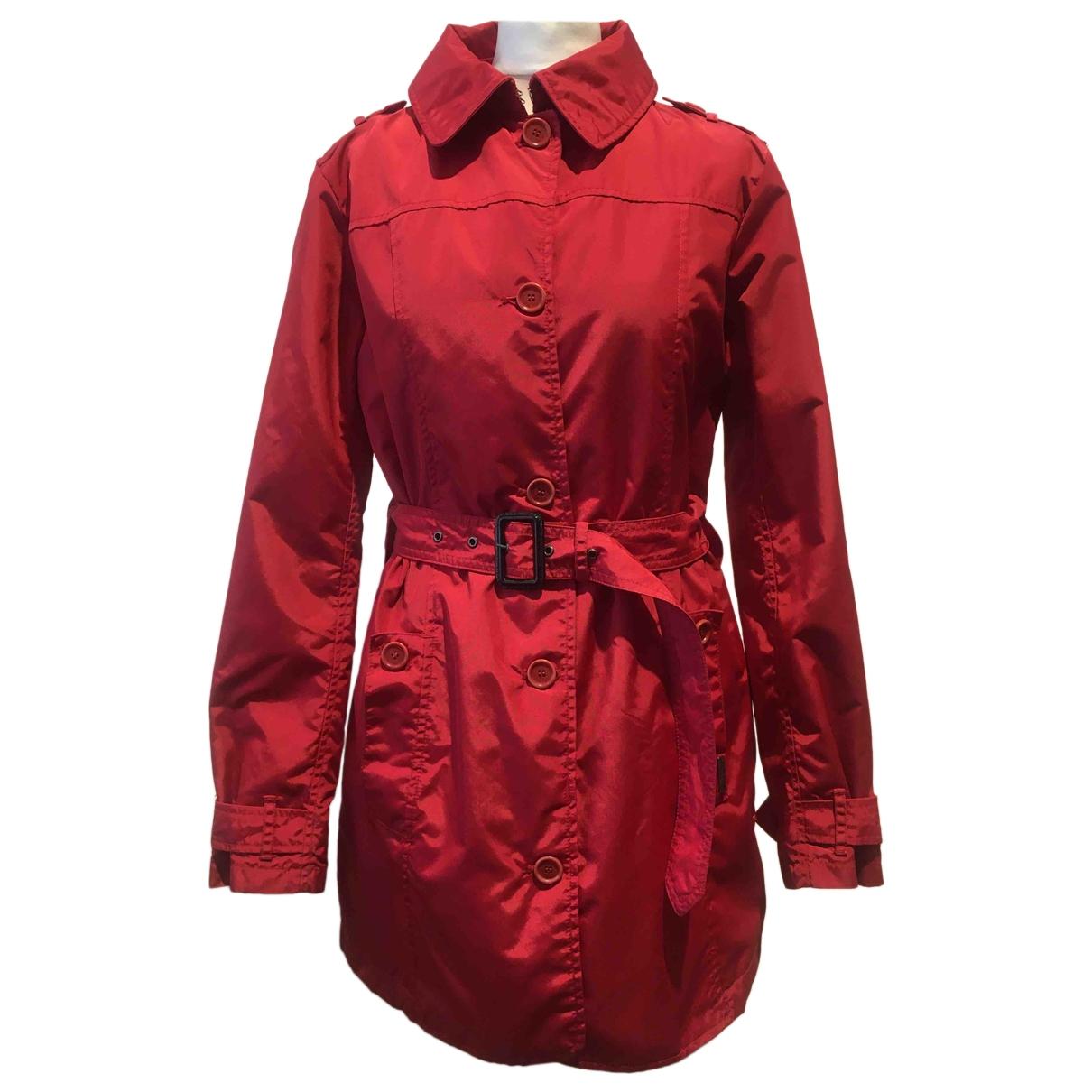 Woolrich \N Red Cotton coat for Women L International