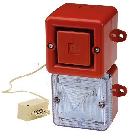 AE & T YFLASH Handset beacon/siren for phone 100dB, Orange Xenon, 230 V ac, IP69