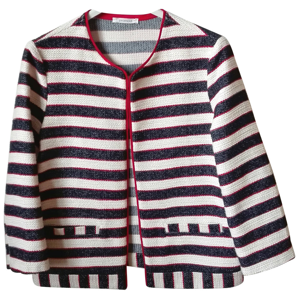 Non Signé / Unsigned N Multicolour Cotton jacket for Women 36 FR