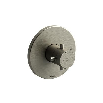Pallace PATM44BN-SPEX 2-Way No Share Thermostatic/Pressure Balance Coaxial Complete Valve Pex  in Brushed