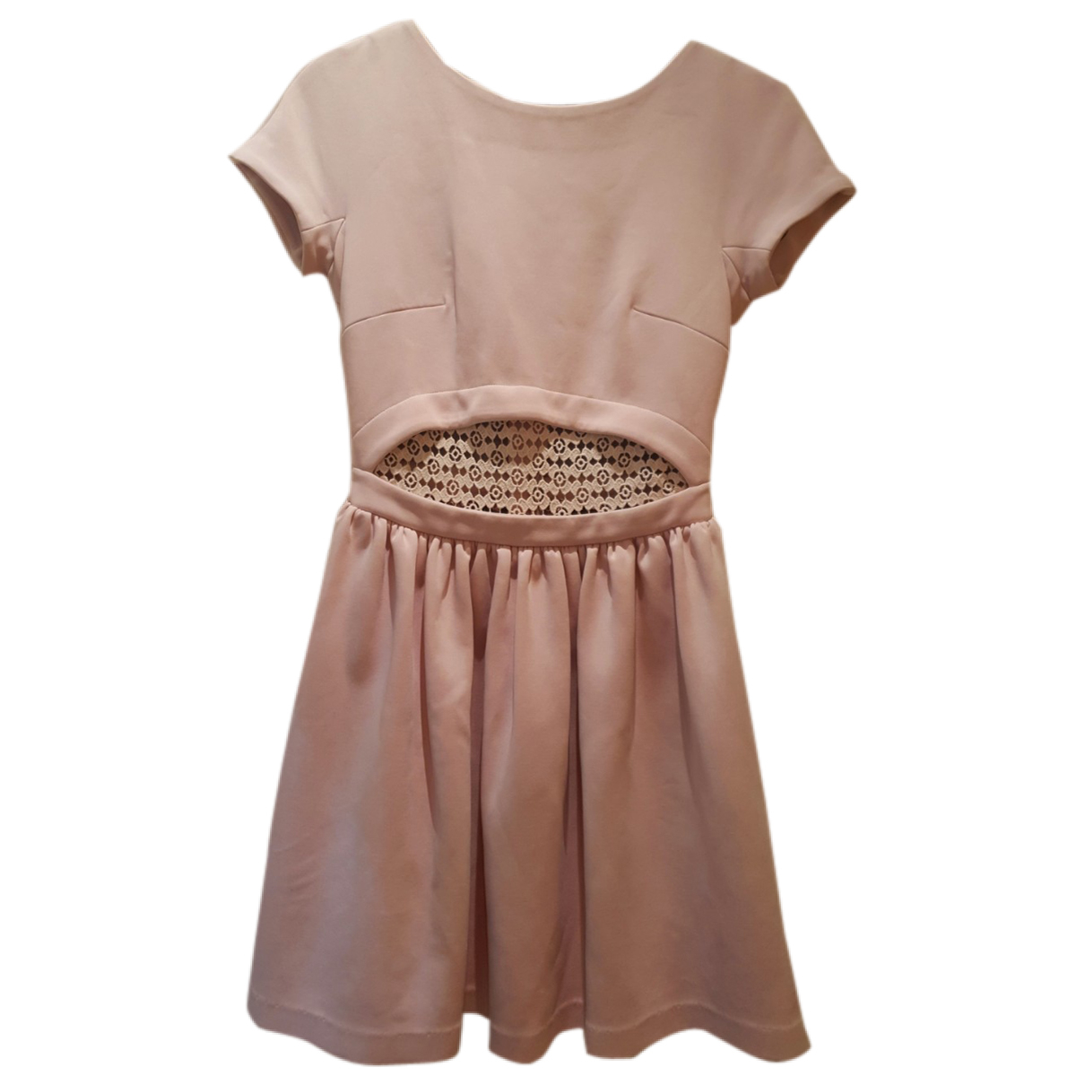 Manoush \N Kleid in  Rosa Baumwolle - Elasthan