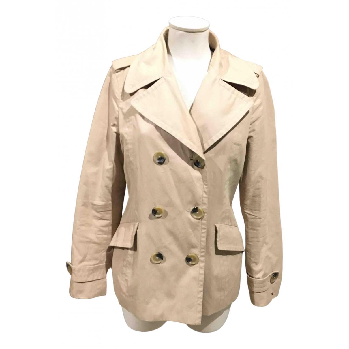 Tommy Hilfiger - Veste   pour femme en coton - beige