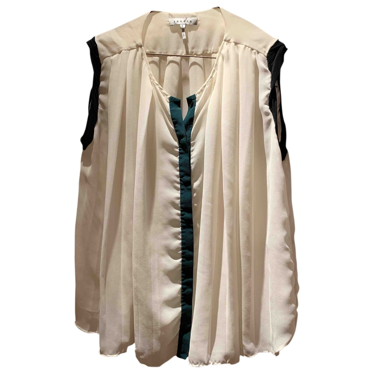 Sandro \N Beige  top for Women 3 0-5
